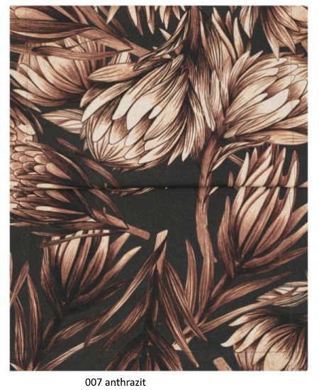 Tischläufer Protea anthrazit