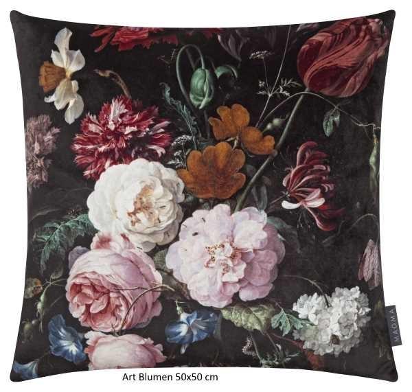Kissenhülle Art Blumen