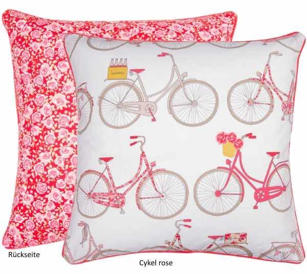 Kissenhülle Cykel rose