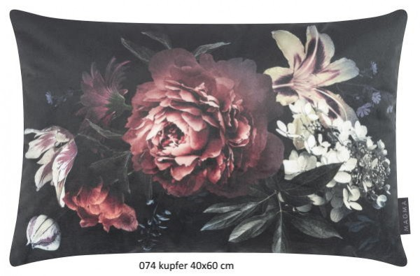 Kissenhuelle Berverly kupfer 40x60 cm