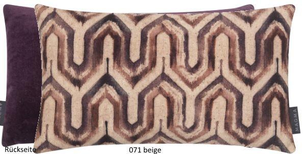 Kissenhülle Pattern beige