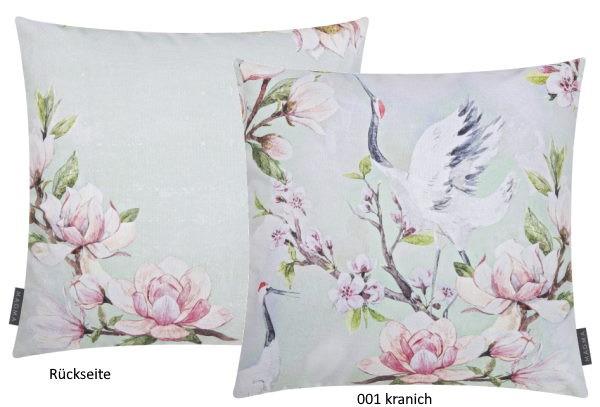 Kissenhülle Magnolia kranich
