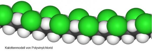 Kalottenmodell-von-Polyvinylchlorid