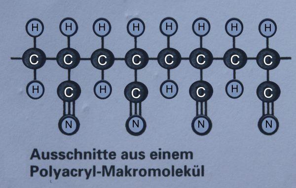 Polyacrylmakromolekuel