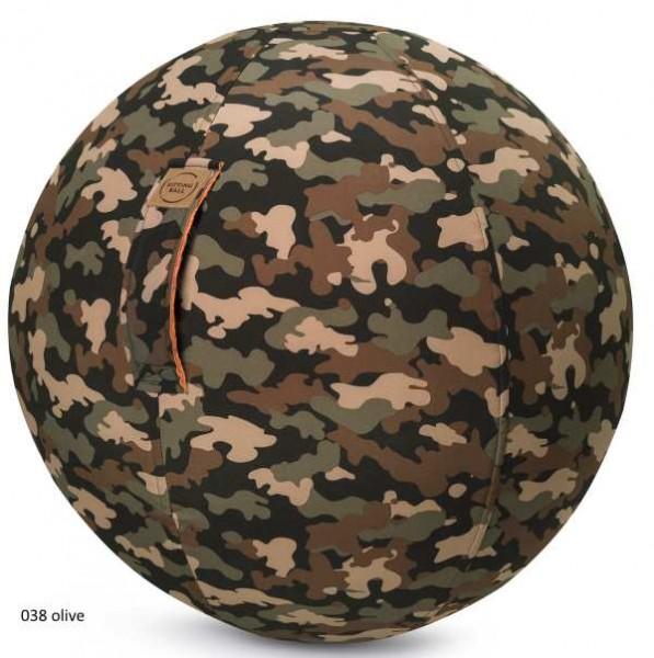 Sitting Ball Camo oilve