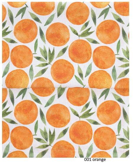 Tischläufer Picnic orange