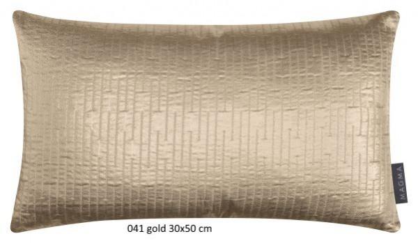 Kissenhülle Glamour gold 30x50 cm