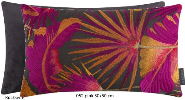 Kissenhülle Sumatra pink 30x50 cm