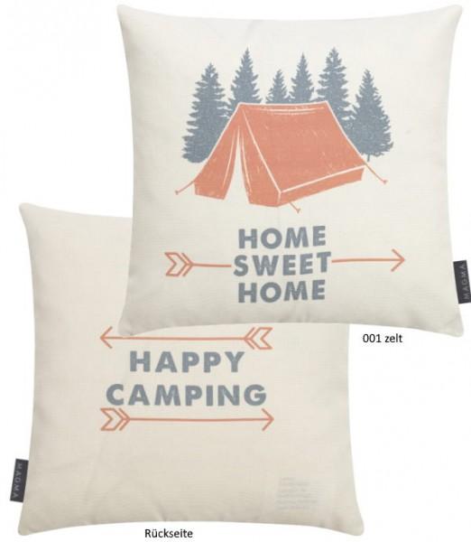 Kissenhülle Camping zelt