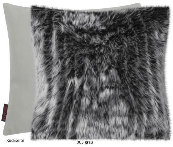 Kissenhülle Zobel grau