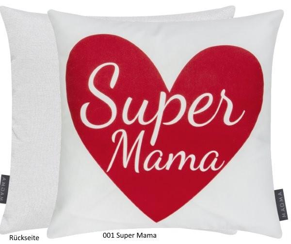 "Dekokissen Love Letters ""Super Mama"""