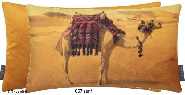 Kissenhülle Kamel senf