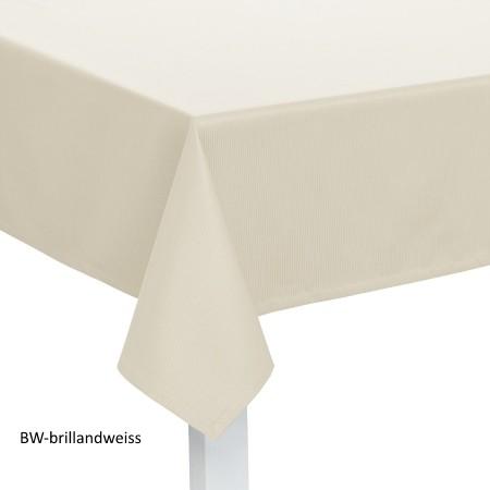 Tischdecke Mondo brillantweiss