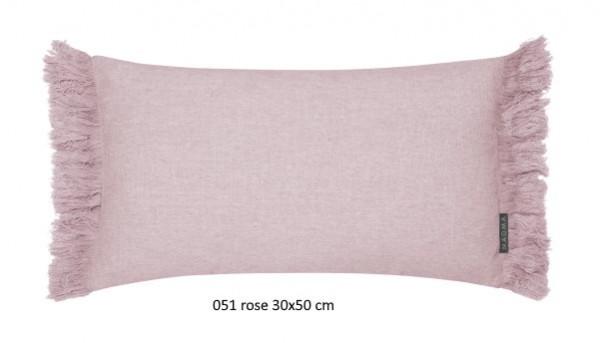 Kissenhülle Tine rose 30x50 cm