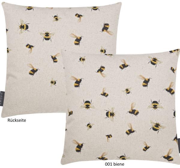Kissenhülle Biene & Co biene 40x40 cm