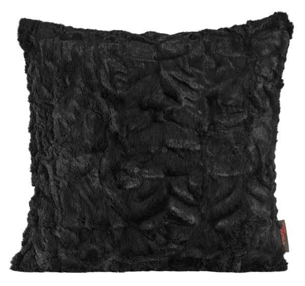 Dekokissen Fluffy schwarz